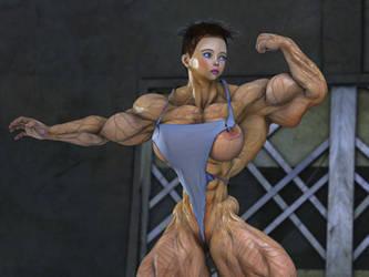Girl in bikini 4 by alessandro2012