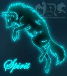 Blue Spirit Wolf