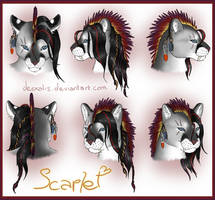 Genderswap - Scar / Scarlet - Headshot