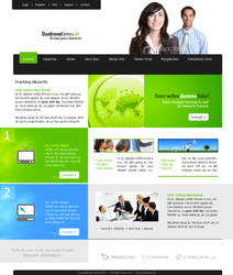 Web Template 12 by IkeGFX