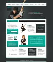 Fourias Ju Website Layout by IkeGFX