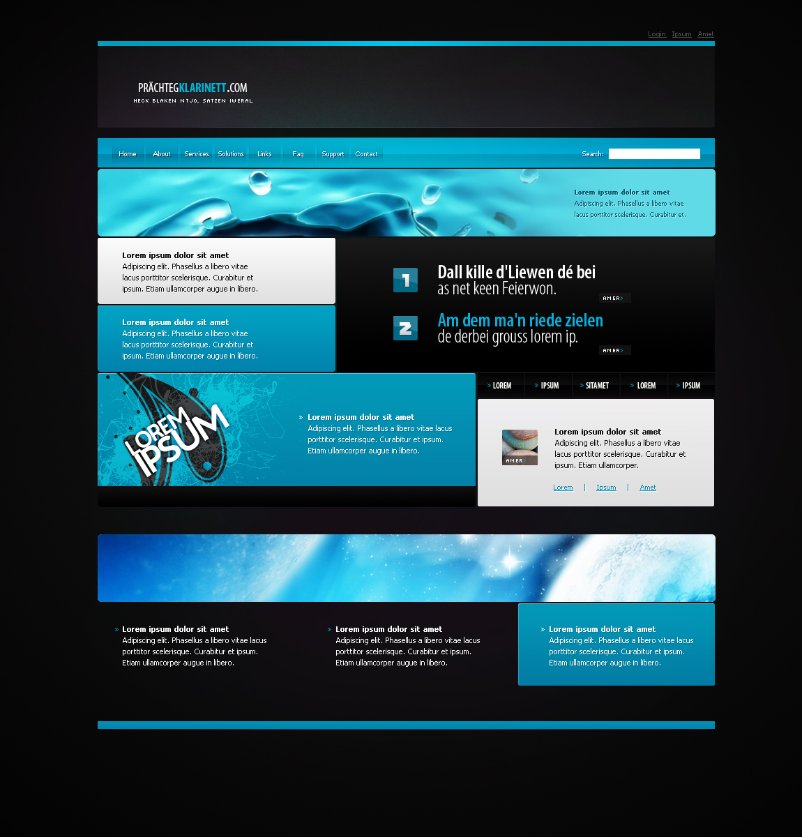 Web Template 16 by IkeGFX