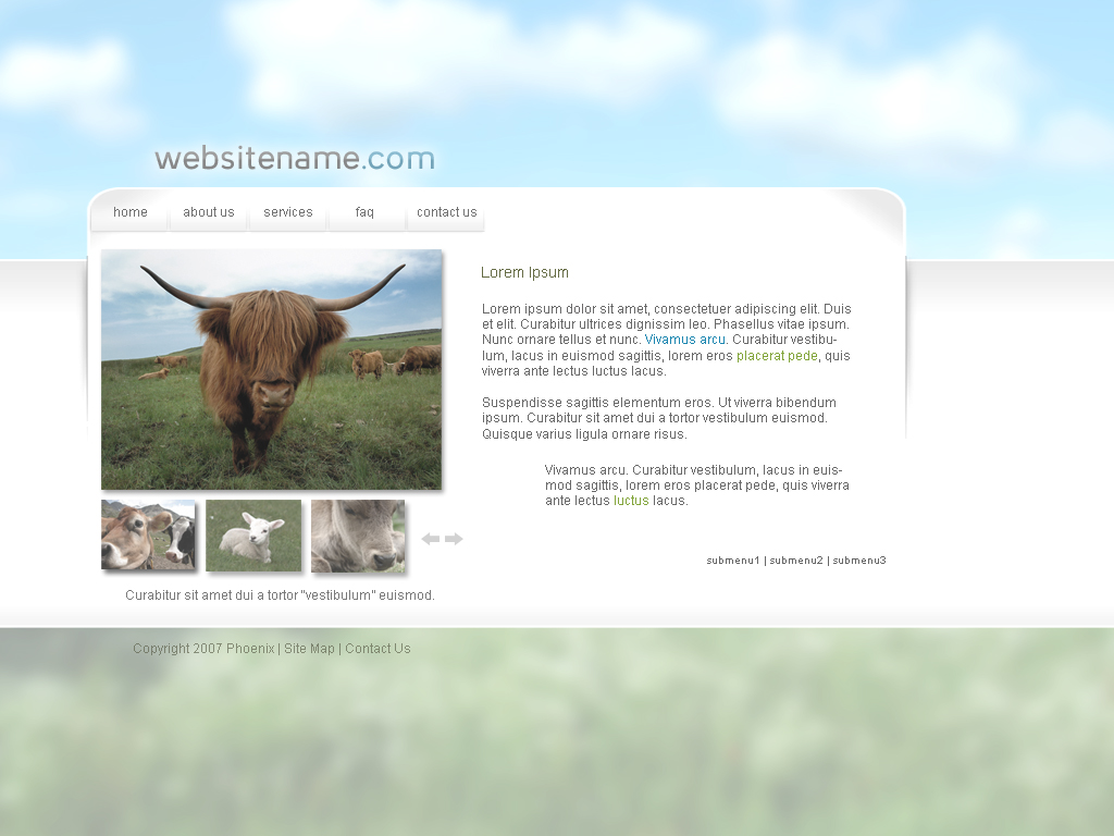 WebTemplate6 by IkeGFX