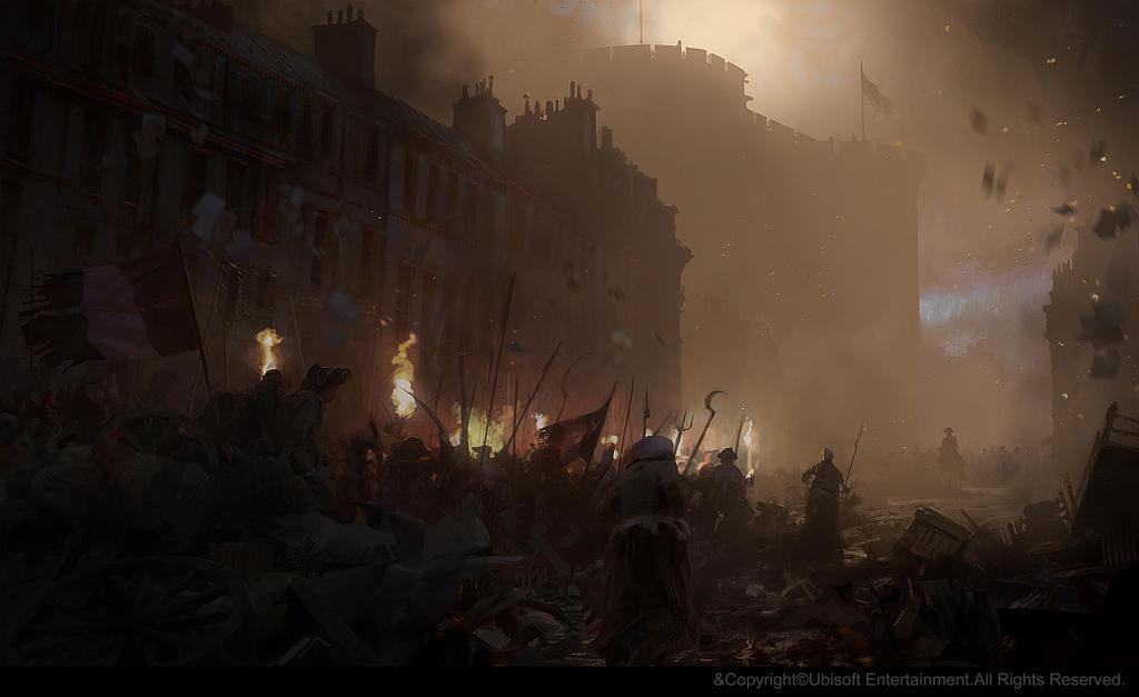 La prise de la Bastille. by gillesbeloeil