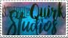 ScribbleQuirk Studios Stamp by TakodaVega