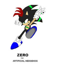Zero the Artificial Hedgehog by Nazo0202