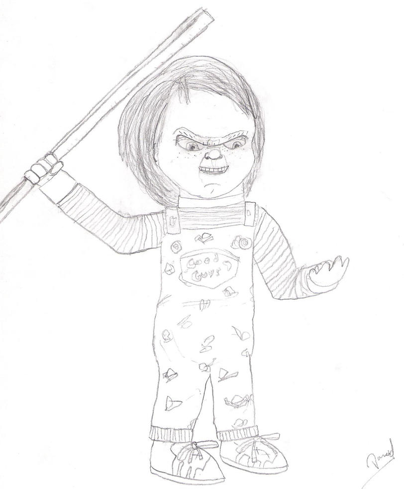 Chucky The Killer Doll By Nazo0202 On DeviantArt