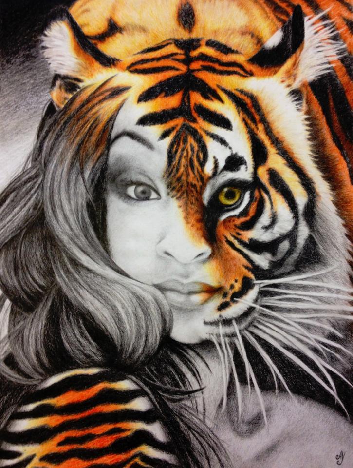 Tigress by AvictoriaY