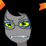 vriska chanly by rosenknospeo