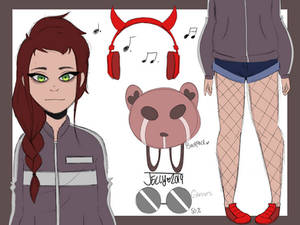 Red Haired girl (CLOSED)