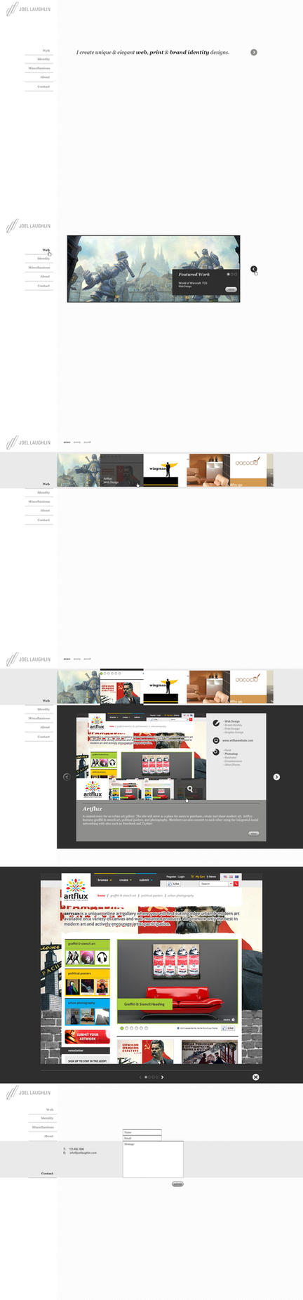 Personal Portfolio - Flash by octaine