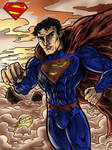 Superman - The man of Steel (finished) by Lannytorres