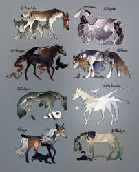 Myths and legends adopt pack SOLD