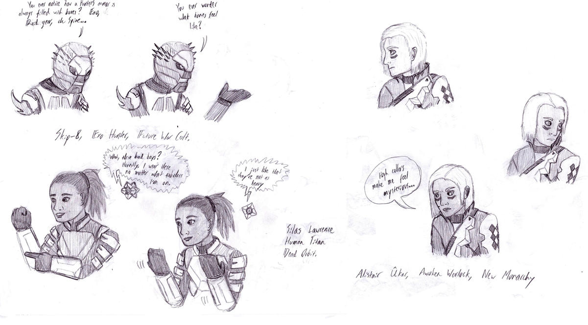 Guardians Discuss their Armor by SVETAM