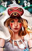 Princess Mononoke by SonotaTyan