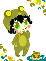 'Lil Frog Prince by OwlTreats