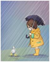 Rainy day by OwlTreats