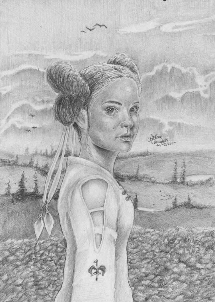 Princess Amidala by AngelinaBenedetti