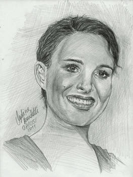 Natalie Portman graphite