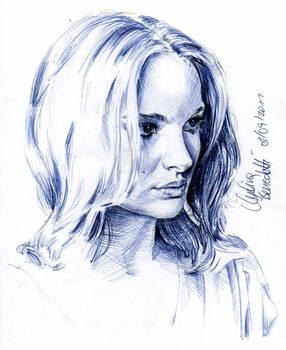 Natalie Portman Ballpoint