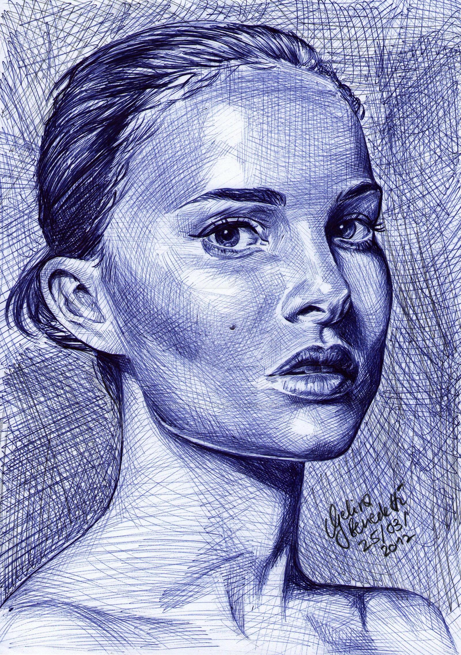 Natalie Portman Ballpoint Pen