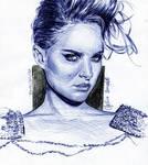 Natalie Portman -Ballpoint Pen