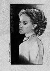 'The Angels Eyes'- Drawing Padme Amidala by AngelinaBenedetti