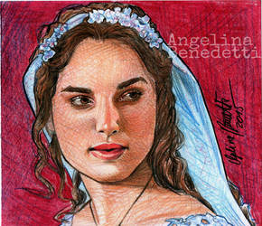 Keira Knightley as Guinevere by AngelinaBenedetti