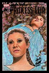 Princess Leia Marvel Cover