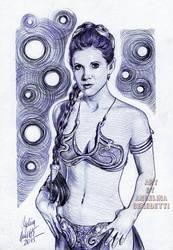 Princess Leia Ballpoint Pen