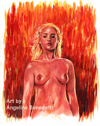Daenerys Targaryen Painting