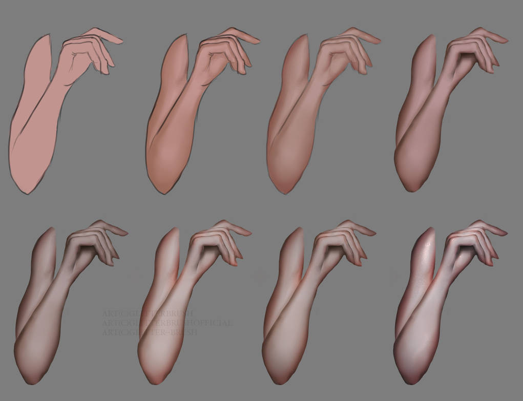 Arm shading tutorial