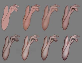 Arm shading tutorial