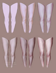 Leg Shading StepbyStep