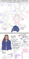 In Depth Lesson Notes - Jean Jacket diagram study