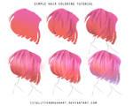 Simple hair tut