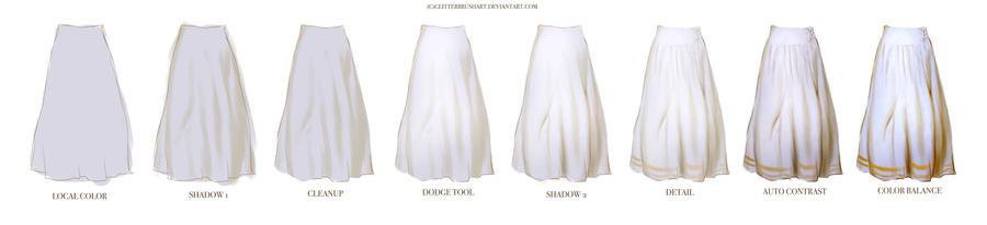 Skirt tutorial (free download)