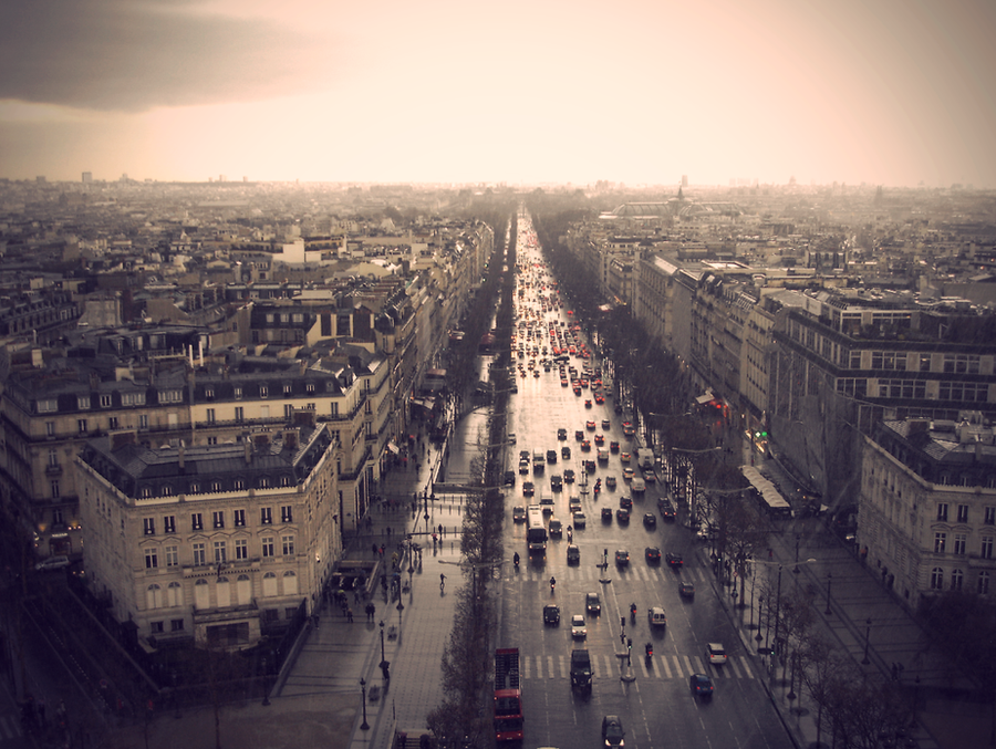 An Artist's Dream: Paris by aninyosaloh