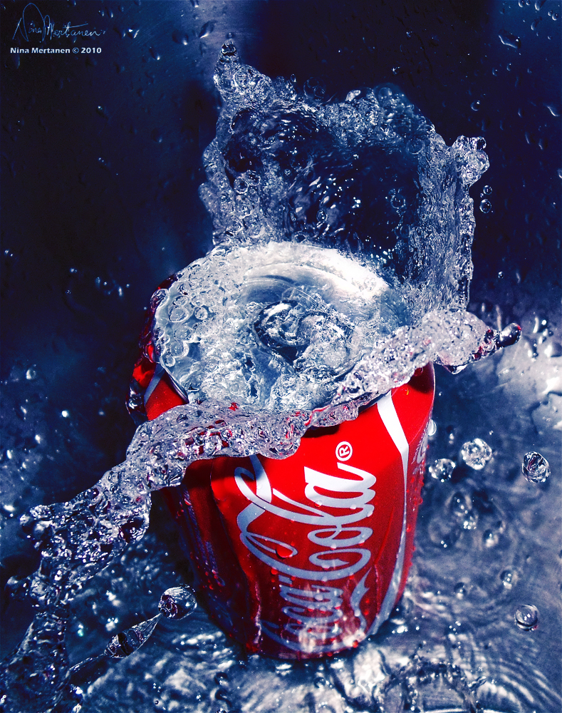 Photography Contest: Conceptual Category - VOTING NOW OPEN. Coke_splash_by_aninyosaloh-d2zs43j