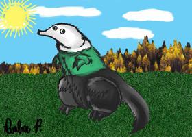 Neutrois Shwormasaurus by Davalon4Ever