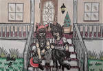 Chilling on the Front Porch by Davalon4Ever