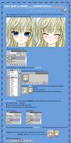 Animation Photoshop Tutorial by Sakon04