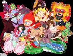 Wonderland Fairy Tales by Sakon04