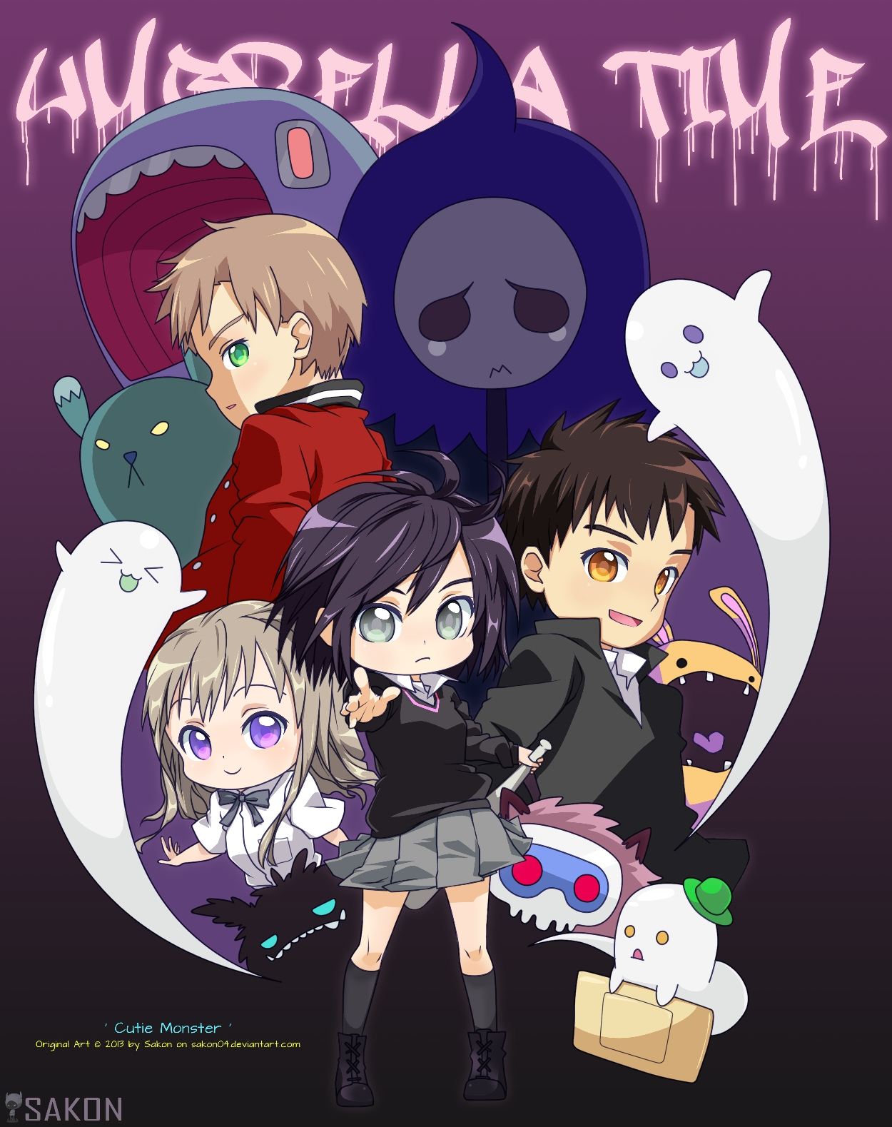 Cutie Monster by Sakon04