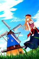 : Windmill : by Sakon04