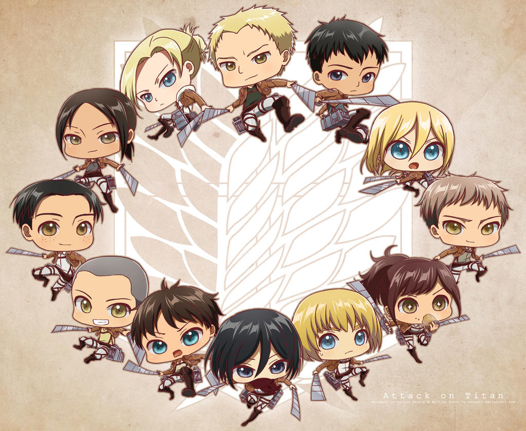 SnK : 104th Trainee Squad by Sakon04