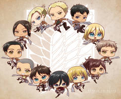 SnK : 104th Trainee Squad