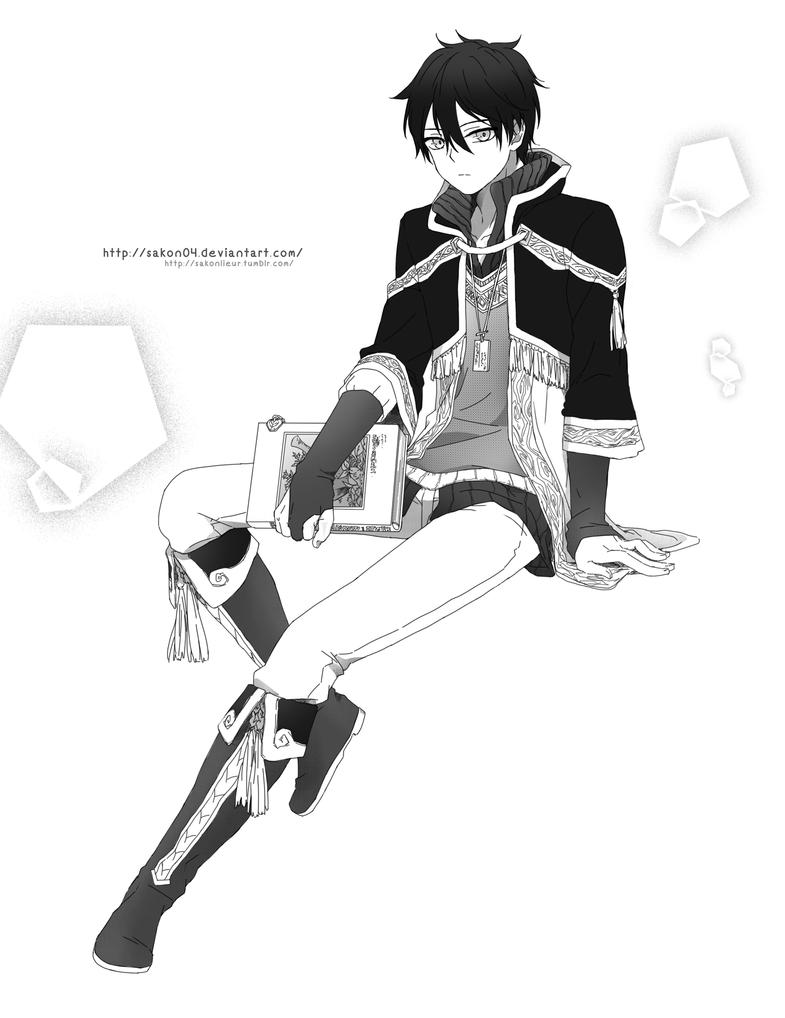 AnS : Ryuu [Old vr.] by Sakon04