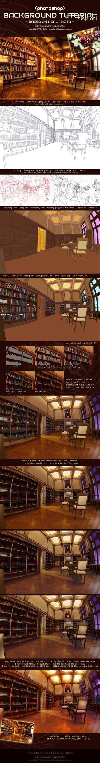 [Step Art] Background Tutorial by Sakon04