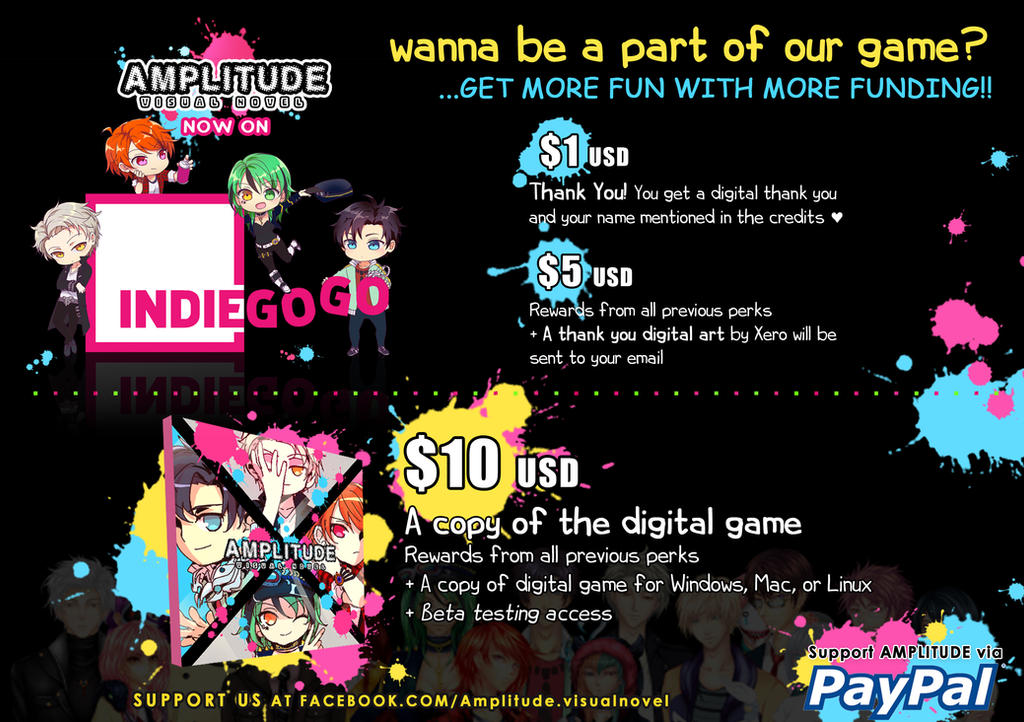 Promo Indiegogo Backers 1 by Sakon04